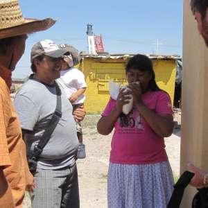 Travail sur le terrain avec Cosmo Factory (état de Chihuahua, Mexique)